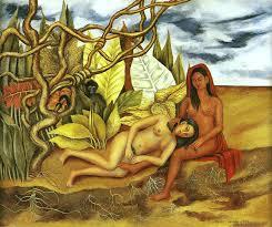 Two nudes Frida Kahlo